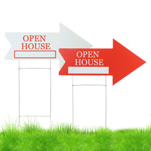 Load image into Gallery viewer, Open House Directional Sign