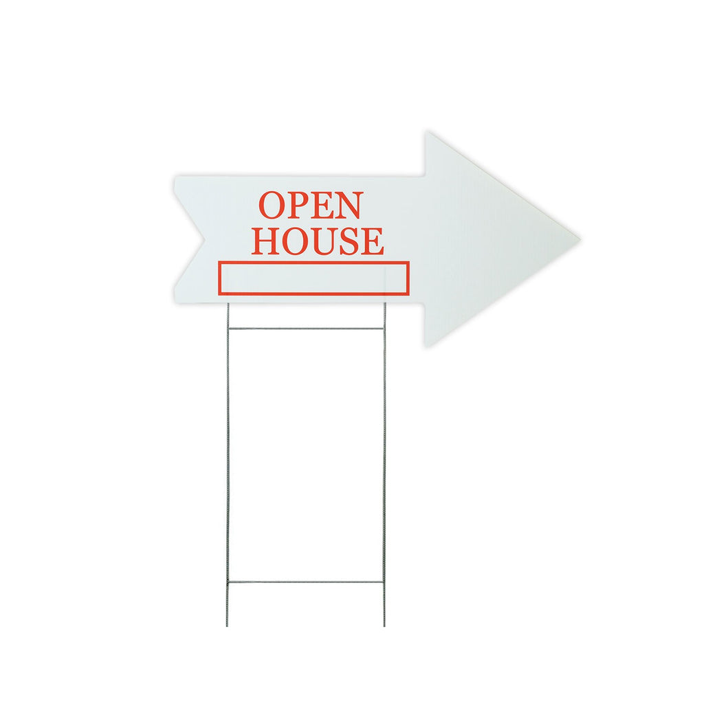 Open House Directional Sign