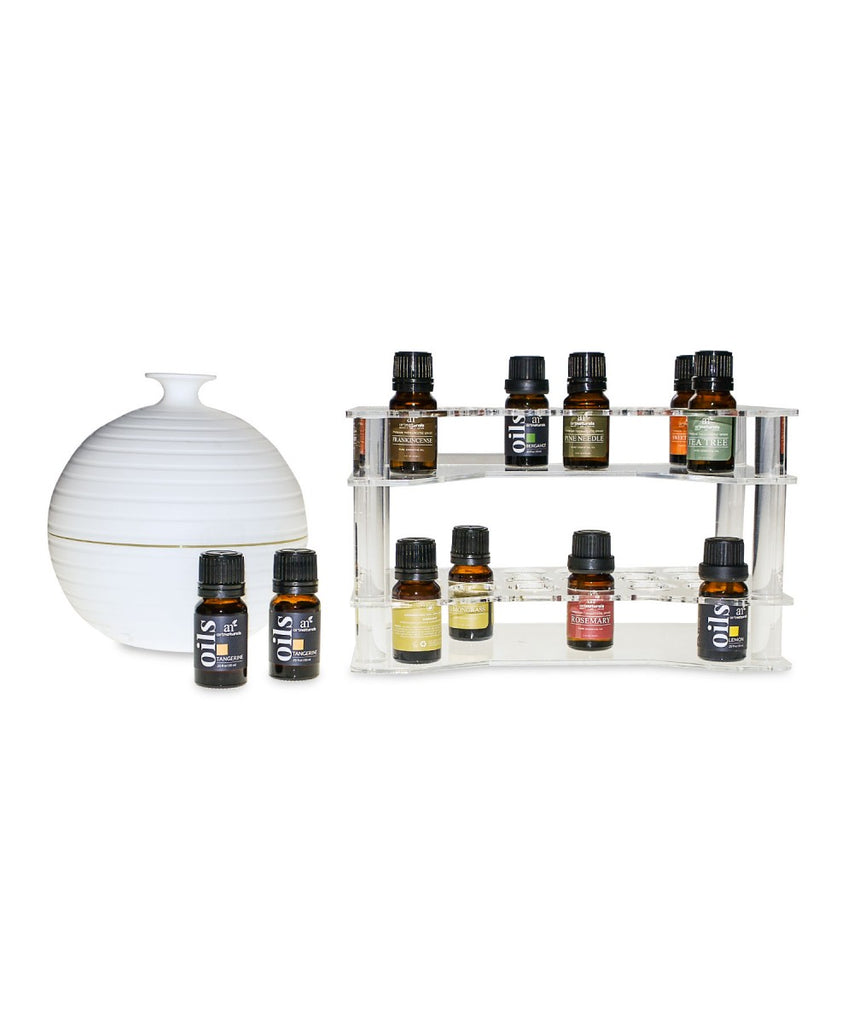 Essential Oil Display Shelf and Stand