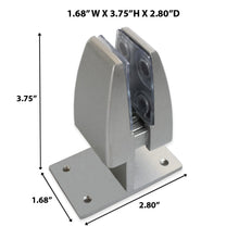 Load image into Gallery viewer, Top Mount Clamp for Sneeze Guards and Office Partition, 2 PCS.