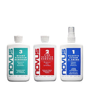 Load image into Gallery viewer, Starter Pack Novus Plastic Acrylic Polish Kit Scratch Remover (3 Pack)