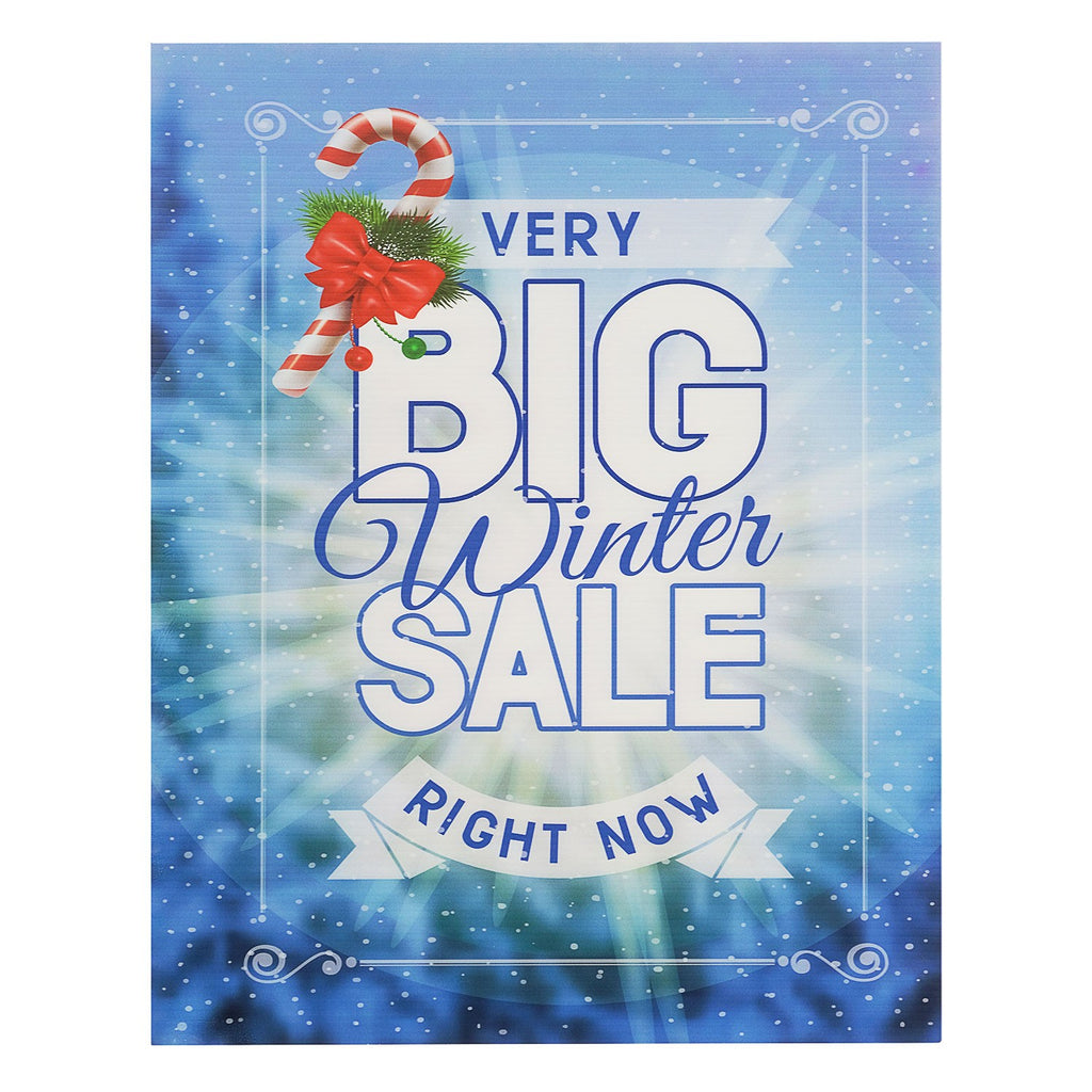Seasonal Sign and Poster