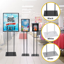 Load image into Gallery viewer, Heavy Duty Metal Floor Sign Holder