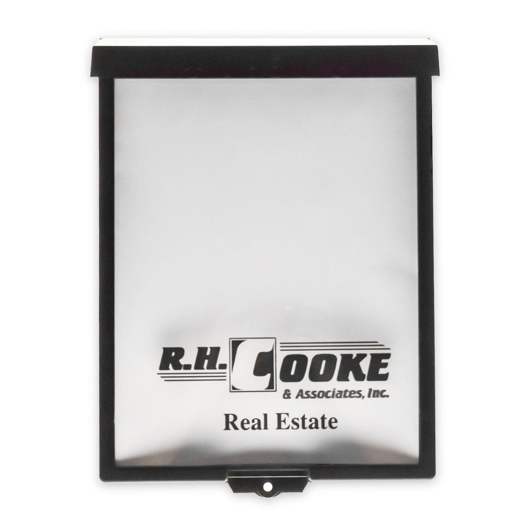 "8.5"" x 11"" Outdoor Realtor Brochure Holder"