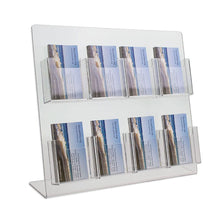Load image into Gallery viewer, 8 Pocket Vertical Business Card Display Stand