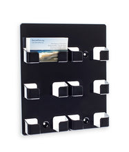Load image into Gallery viewer, 6-Pocket EZ-Load Wall Mount Business Card Holder