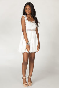 Adams Dress - White