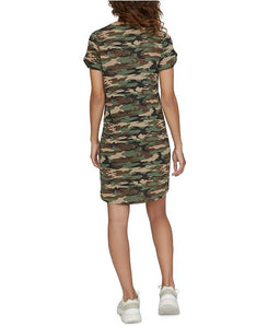 So Twisted T-Shirt Camo Leo Dress