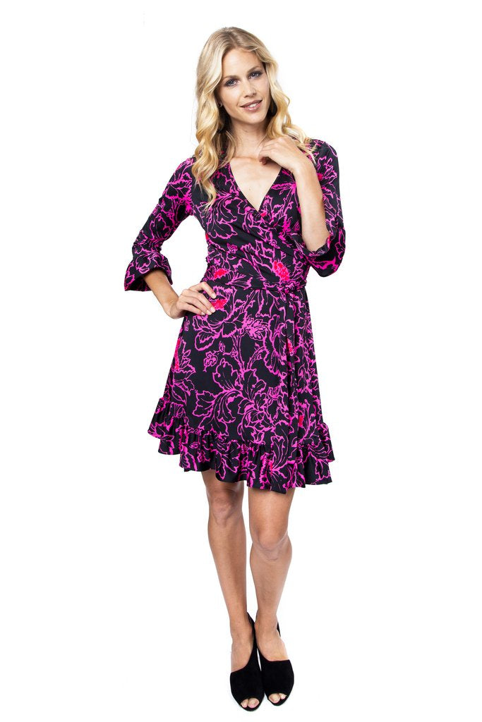 Skylar Wrap Dress