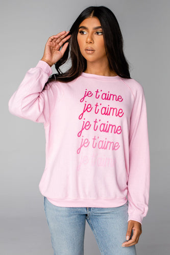 Courtney Sweatshirt - Je Taime