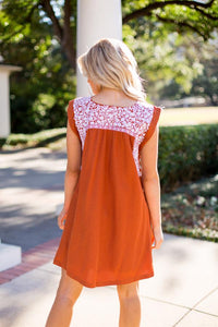 Rainey Embroidered Dress