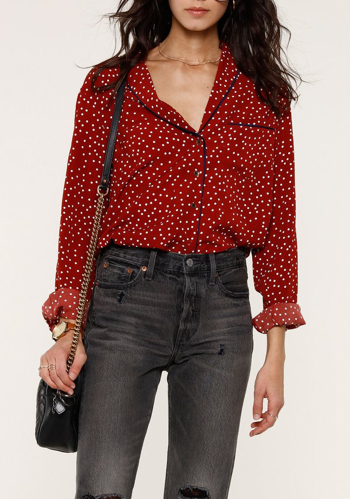 Benny Button Down Top