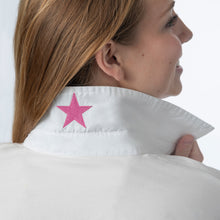 Preppy Star Shirt  - White/Pink