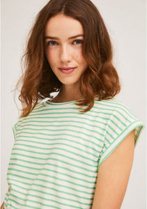 Sleeveless Cotton T-Shirt