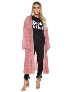 Roberts Duster Wrap - Clay