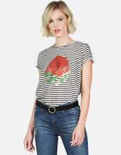 Crystal Gold Foil Rose Tee