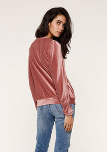 Alli Velour Sweatshirt