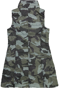 Anorak Grey Camo Nylon Long Vest