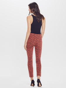 The High Waisted Looker Ankle Fray-  Animal Attraction