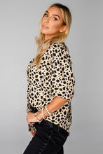 Perry Oversized Speckled Top