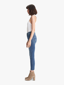 High Waisted Looker Ankle Fray - Get Your Groove Back