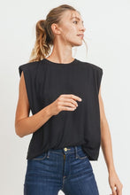 Monica Shoulder Pad Top