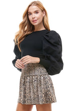 Justine Puff Sleeve Top