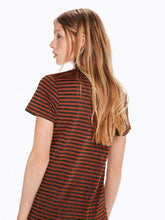Striped Lurex Tee