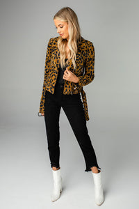 Cicely Jacket - Leopard
