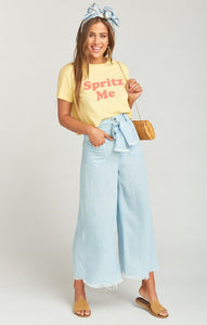 Lasso Pants ~ Shore Chambray