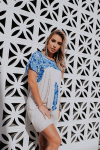 Carolina Emb Dress
