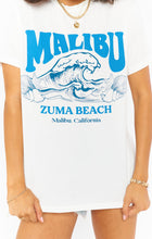 Travis Tee - Malibu Beach Graphic