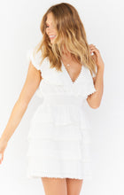 Sweet Mini Ruffle Dress