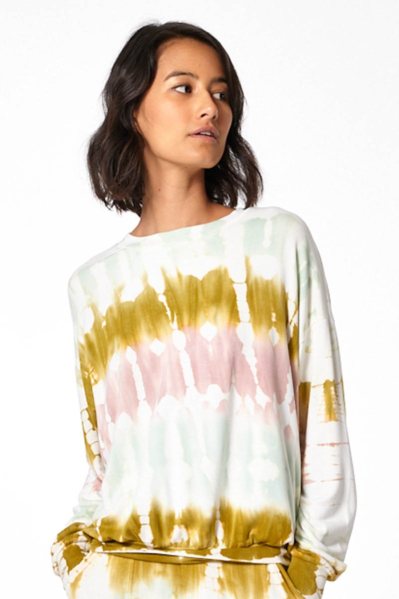 Coraline Sweatshirt - Willow Geode Wash