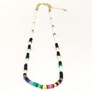 Skinny Disc Necklace