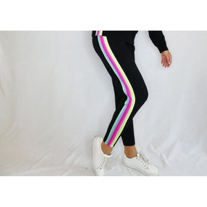 Faith Stripe Jogger