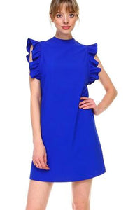 Ari Ruffle Sleeve Dress