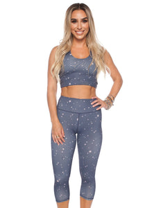 Fonda Workout Top- Galaxy