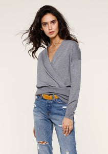 Everly Wrap Sweater