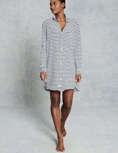 Relaxed Button Down Shirtdress