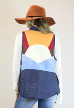 Multi Color Snap Lightweight Vest