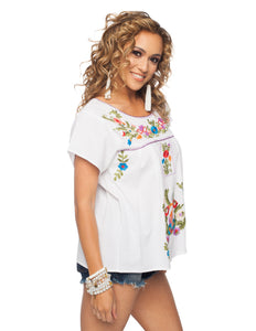 Cuba  Embroidered Top