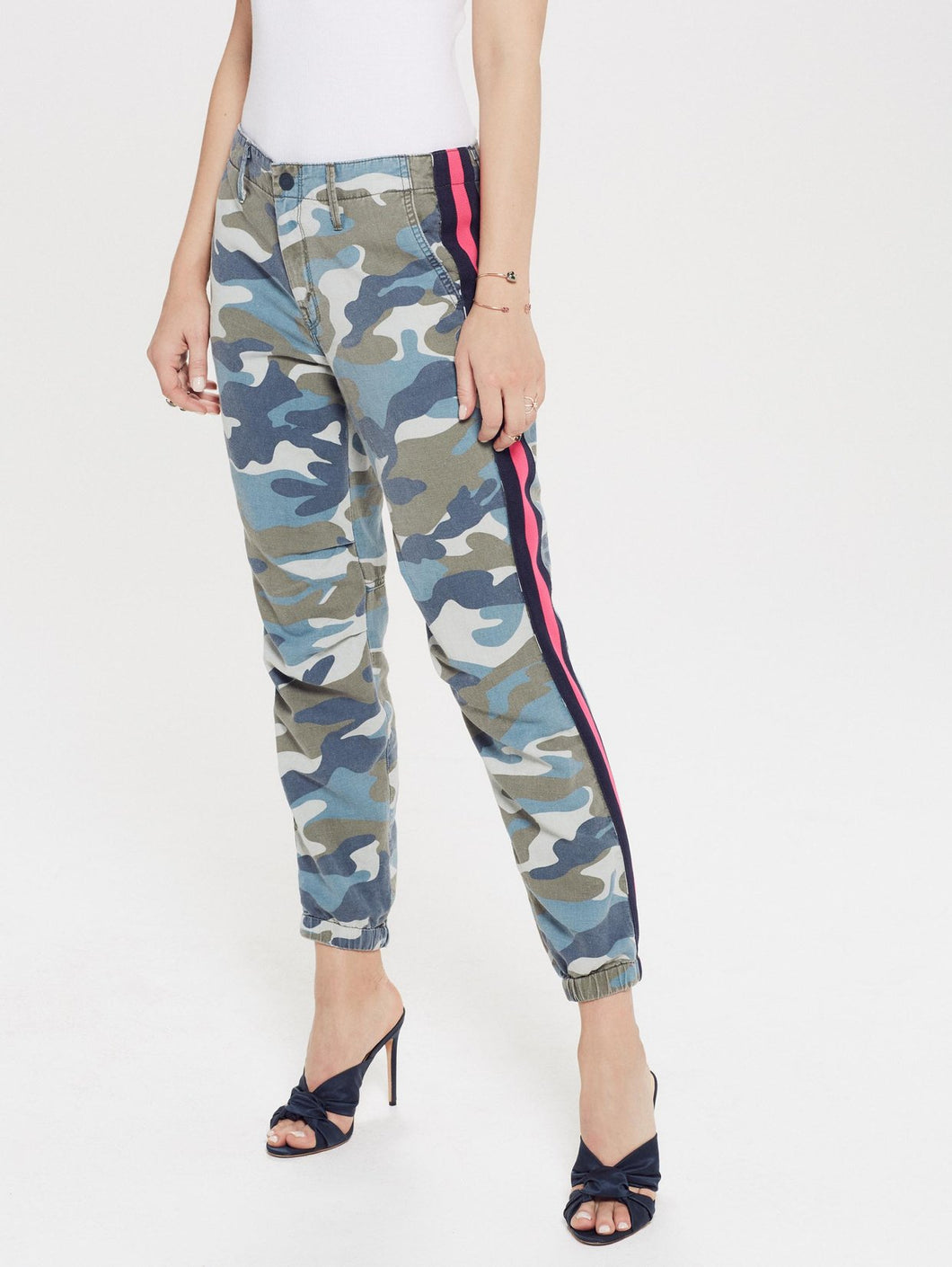 No Zip Misfit - Army Blue Camo