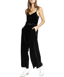 One Night Only Velvet Jumpsuit