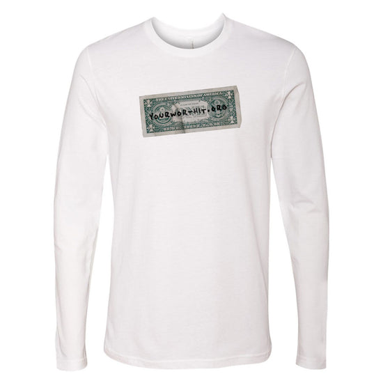 YourWorthIt Long Sleeve Tee