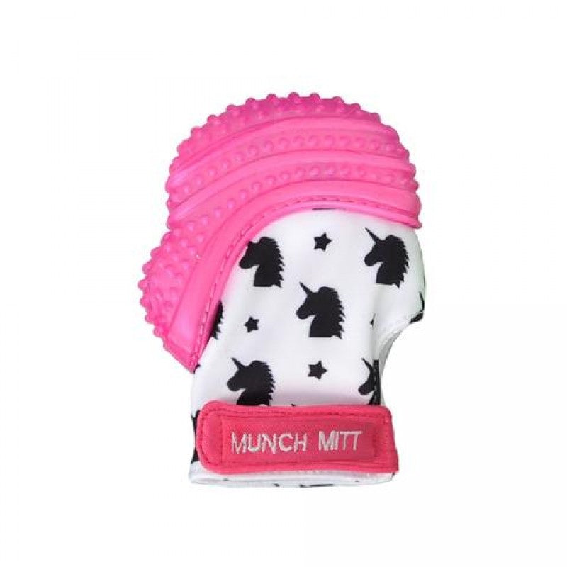 Munch Mitt - Pink Shimmer - Unicorns