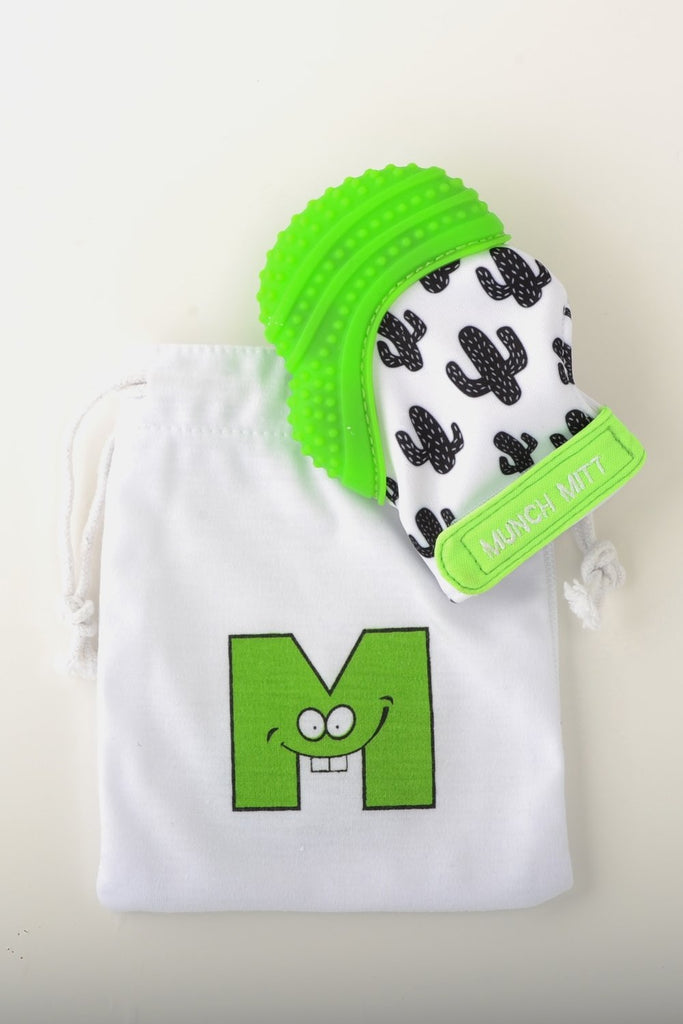 Munch Mitt - Green - Cactus