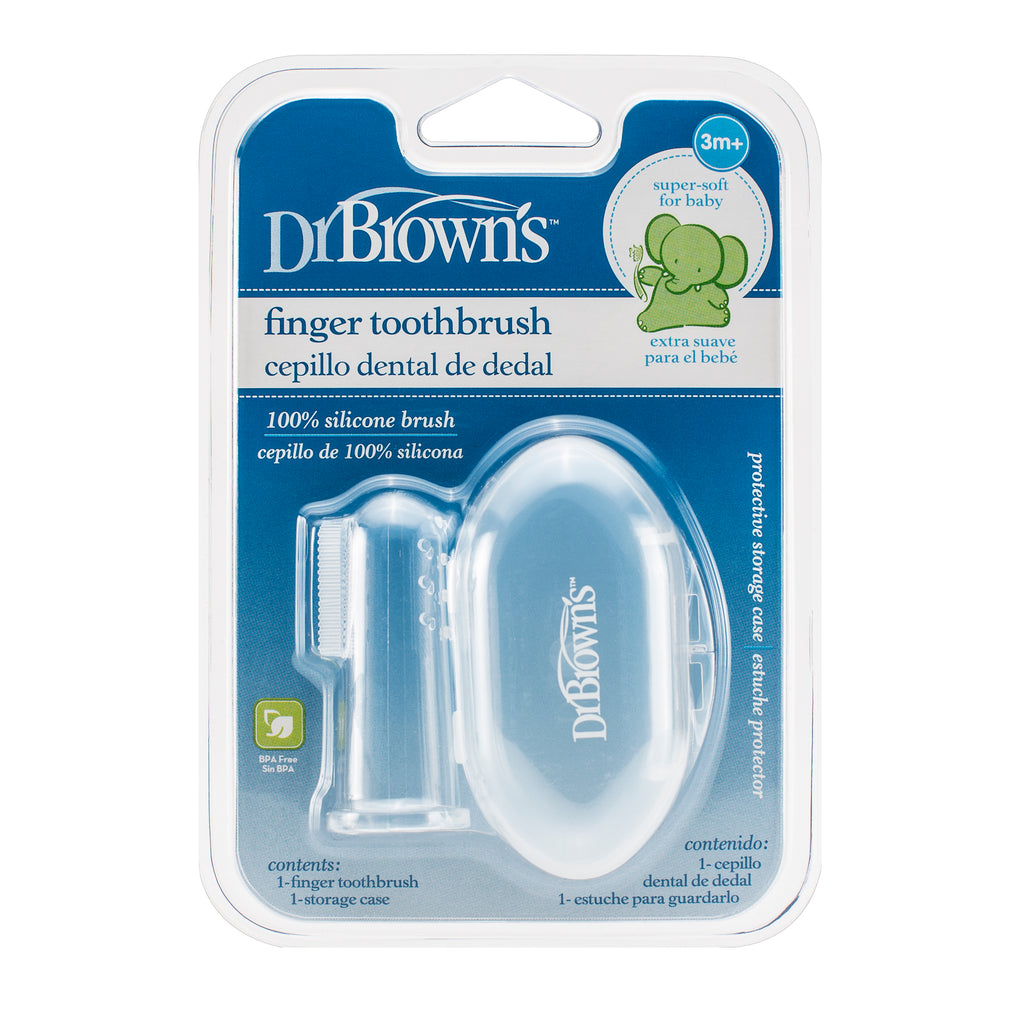Finger toothbrush (3m+)