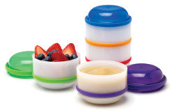 Snack-A-Pillar™ Stackable Snack & Dipping Cups