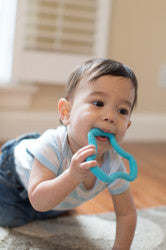 Dr. Brown's Flexees Ergonomic Teether, Blue